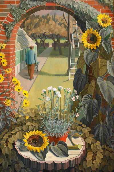 Artist Charles Mahoney: The Garden, 1950