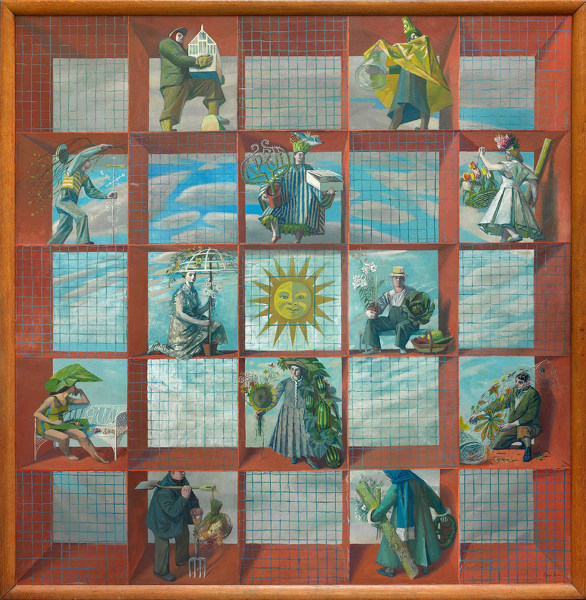 Artist Evelyn Dunbar: An English Calendar, 1938