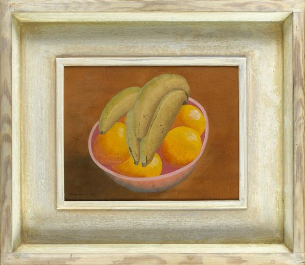 Artist Ithell Colquhoun: Fruit in a bowl 2, 1937